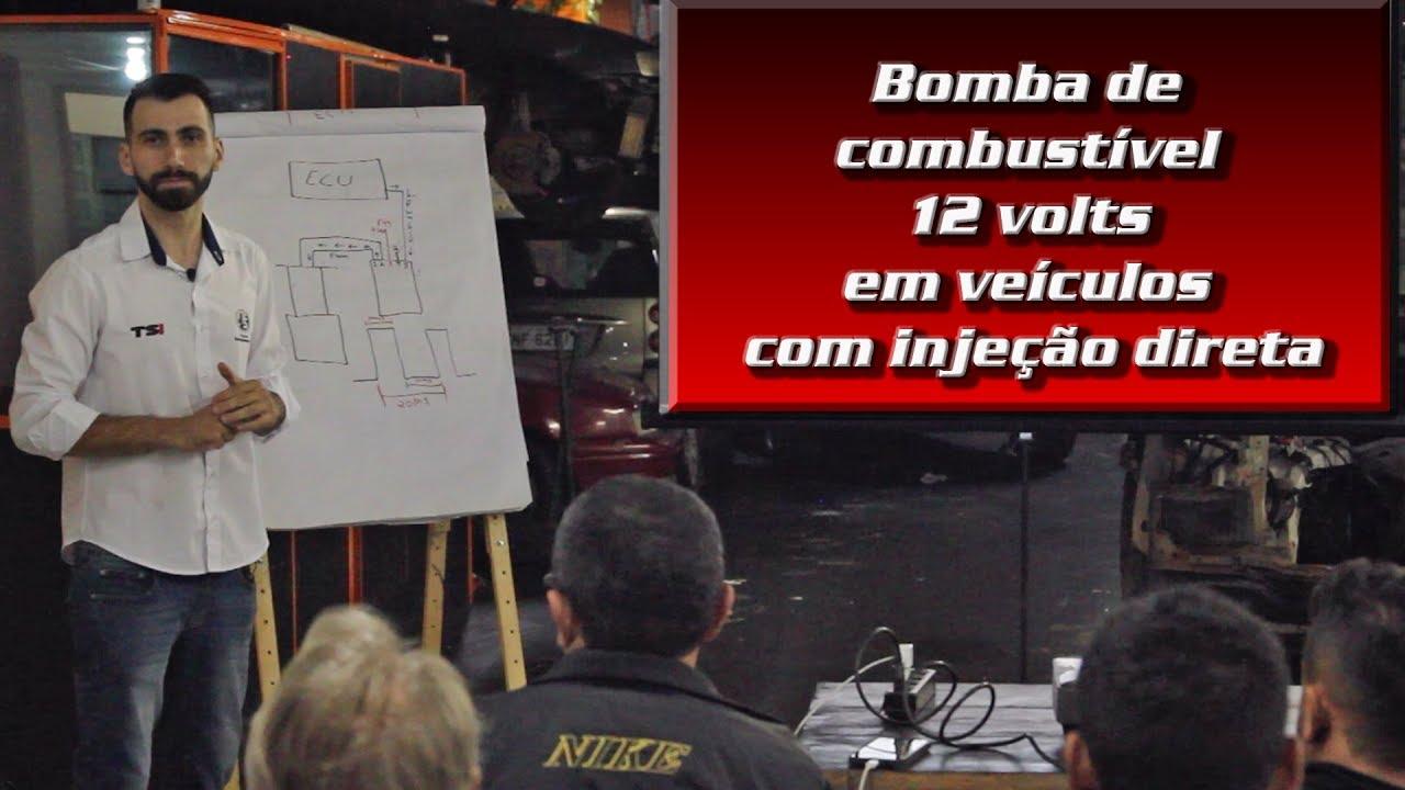 Bomba de combustível 12 volts em veículos com injeção direta