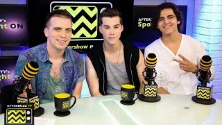 Jeremy Shada & Logan Charles Interview | AfterBuzz TV