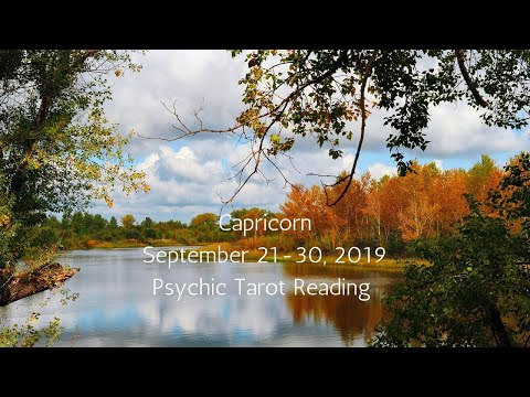 Capricorn, A Souls Desire Is Granted By The Divine // Psychic Tarot Reading, September 21-30, 2019