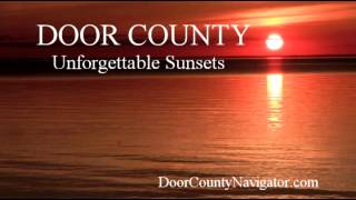 Door County Unforgettable Sunsets