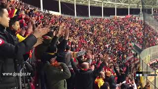 Göztepeliler Galatasaray Stadını İnletiyor