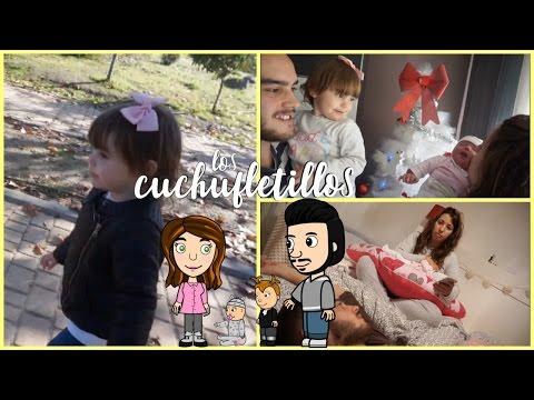 PONEMOS EL ARBOL DE NAVIDAD + PRIMEROS COLICOS| Vlog 5 dias de vida