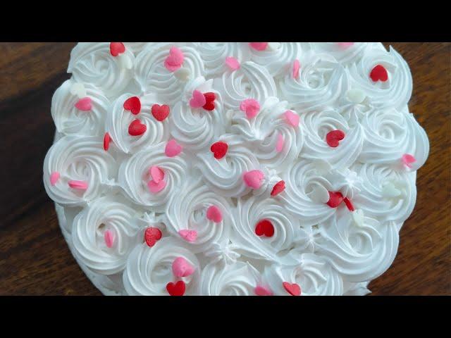 பர்த்டே கேக் செய்வது எப்படி !! How to make Birthday Cake In Tamil !!