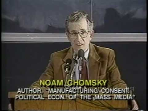 Noam Chomsky Necessary Illusions