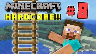 minecraft hc 4 part 8 good ladder bro