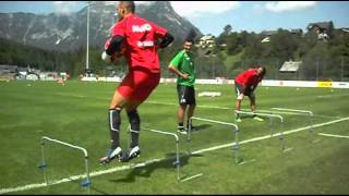 FC Augsburg Torwarttraining