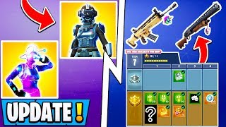 *NEW* Fortnite Update! | 30+ Skins & S11 Battle Pass Leaked, Female Galaxy, Visitor V2!