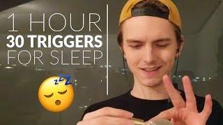 1 hour 30 triggers for sleep asmr