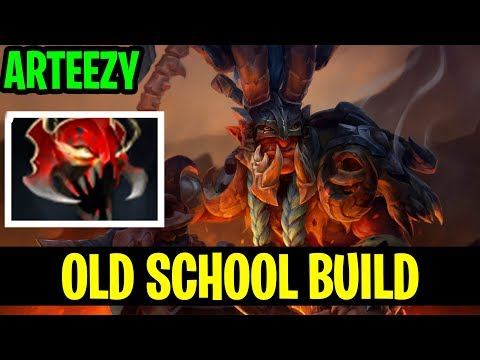 Old School Build - Arteezy Troll Warlord Mask Of Madness - Dota 2