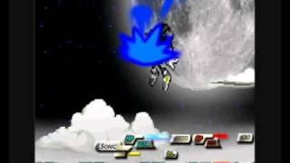 Sonic RPG 8 Batalla Super Sonic y Super Shadow VS Seelkadoom