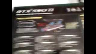Unboxing Gigabyte GV N550WF2 1G  GeForce GTX550Ti