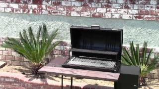 55 Gallon Barrel Smoker Santa Maria Barbecue Grill  Www.chaneysgrills.com