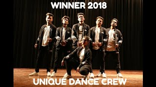 Winning Group Dance 2018-19 Biggest College Fest IIM | Unique Dance Crew | Vipin Sharma Choreography