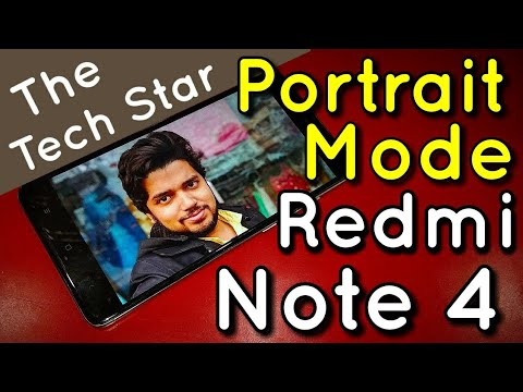 Miui 9 - Portrait Mode in Redmi Note 4 With Google App Tutorial | Hindi - हिंदी