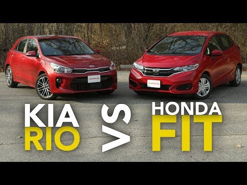 2018 Kia Rio vs Honda Fit Comparison Which Subcompact Hatchback Is Better