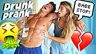 DRUNK PRANK ON GIRLFRIEND