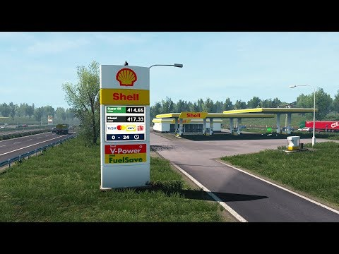 Real European Gas Stations Reloaded | Euro Truck Simulator 2 Mod [ETS2 1.37]