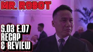 [Mr Robot] Season 3 Episode 7 Recap & Review | Breakdown of eps3.6_fredrick&tanya.chk