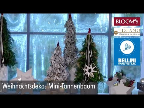diy weihnachtsdeko mini tannenbaum f r die fensterbank youtube. Black Bedroom Furniture Sets. Home Design Ideas