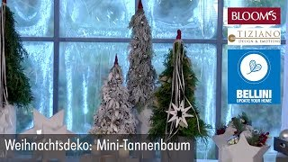 Weihnachtsdeko: Mini-Tannenbaum