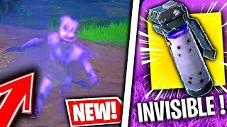 GLITCH: HOW to be INVISIBLE IN ILLIMITEE WITH THE NEW BOMBE ON FORTNITE!!!