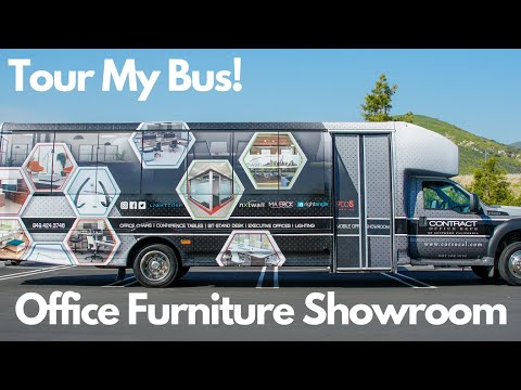 Office Furniture Mobile Showroom | Contract Office Reps of Southern California