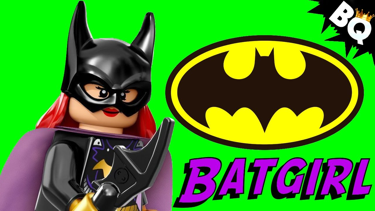LEGO Batman Batgirl Minifigure Comparison Round Table ...