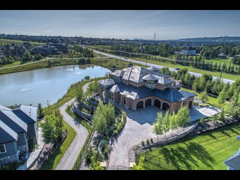 Calgary Real Estate Property Video Tour Production - 132 Waterside Ct