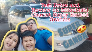 Motor review on 1998 mitsubishi chariot super exceed grandis