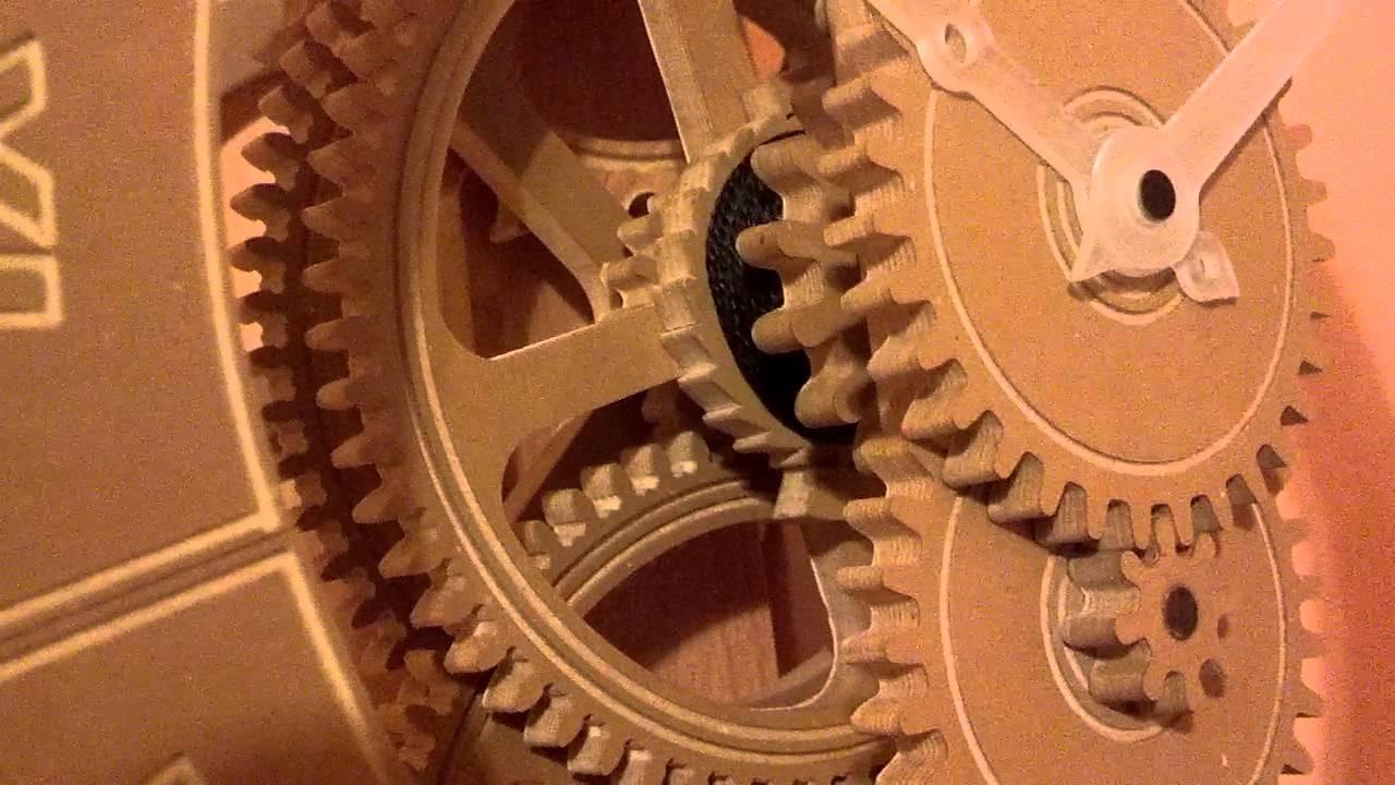 Reloj de madera con pendulo youtube - Reloj adhesivo de pared ...