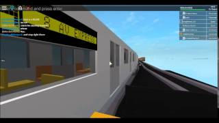 ROBLOX MTA Subway Movie: Chapter 17 [The Rockaways Train Action]
