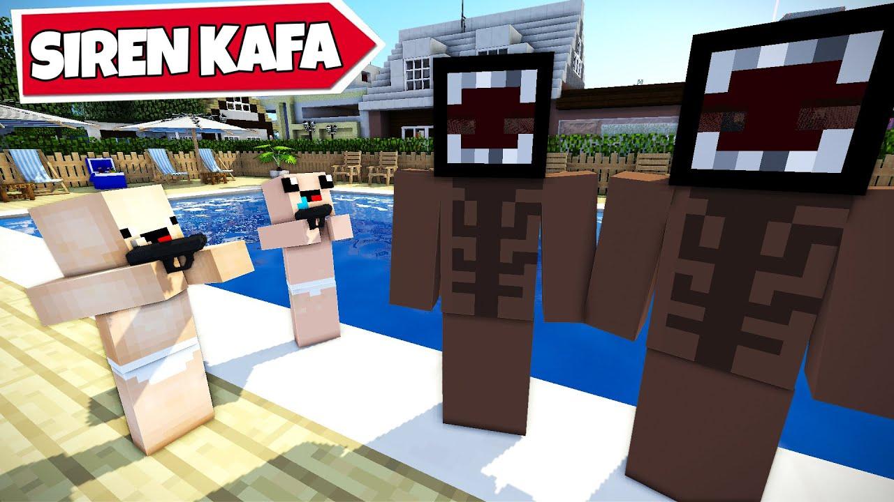 SİREN KAFA ŞEHRİMİZE GELDİ !! 😱 - Minecraft