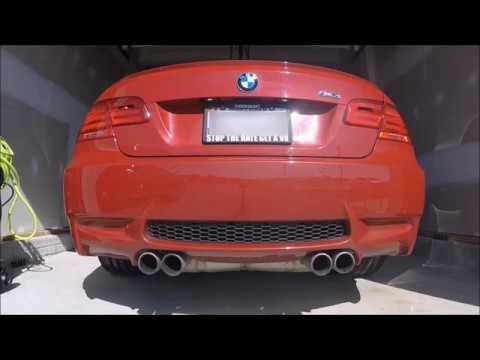 BMW E92 M3 Exhaust Comparison - Stock vs Borla ATAK