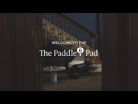 The Paddle8 Pad host: George Lamb