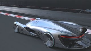 Future Mercedes–Benz Silberpfeil Concept Race Car 2055 thumbnail