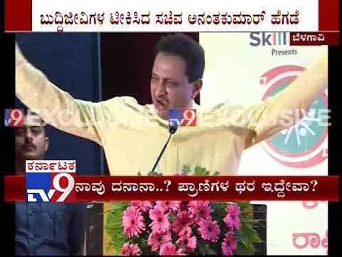 Anantkumar Hegde Hits Out at Progressive Thinkers & Littérateur, Lands in Another Controversy