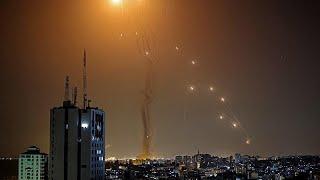 شاهد: إطلاق 130 صاروخا من غزة في اتجاه تل أبيب وضواحيها