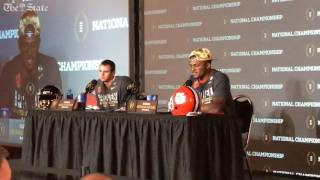 Deshaun Watson explains decision to enter the NFL draft