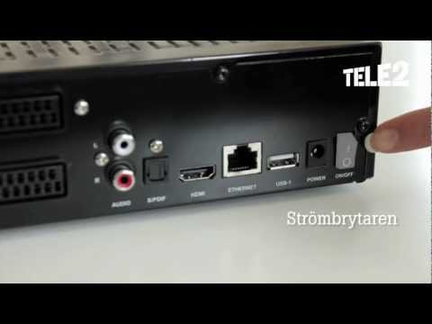 Installations- och informationsfilm för Sweden Telecom boxar från Tele2