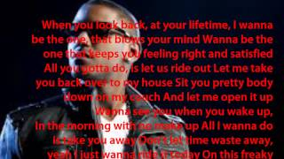 Lloyd - Sexcapade (feat. Roscoe Dash) lyrics on screen
