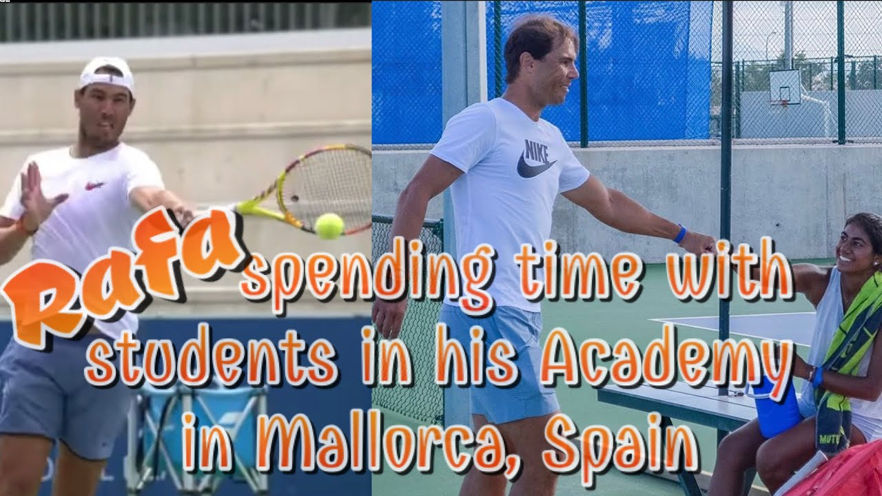 Fedal Updates Have You Seen Rafa With A Face Mask Rafael Nadal Youtube
