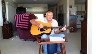"""I Heard That Lonesome Whistle Blowing"" Cover By Skip McGowan"