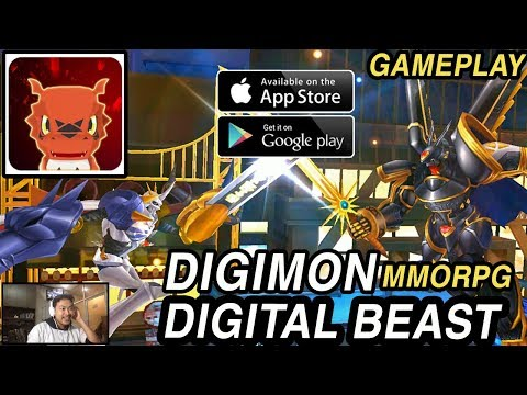 Akhirnya Rilis! Digimon Digital Beast (Android/Ios) Gameplay