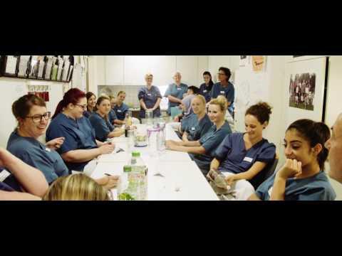 Ich bin Pflegekraft im RKU - Bereich: Querschnittgelähmtenzentrum
