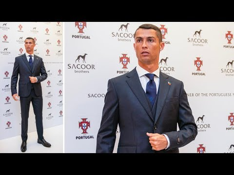 Cristiano Ronaldo in formal suit Portugal Team for World Cup 2018