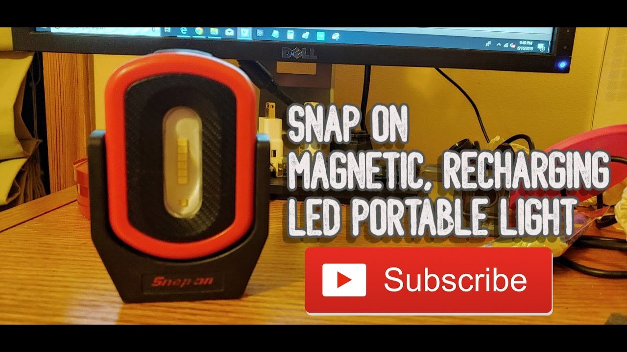 Snap On Rechargeable Pivot Led Magnetic Light An Mechanics Dream
