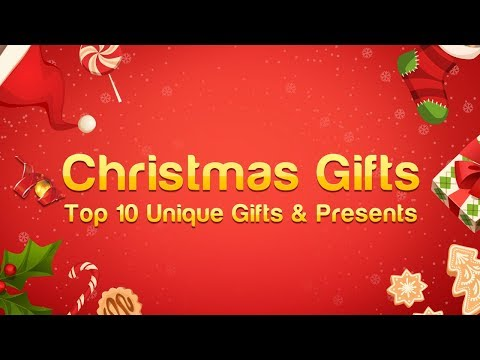 Christmas Gift Ideas: Top 10 Unique Gifts & Presents For Men, Women & Kids (2018)