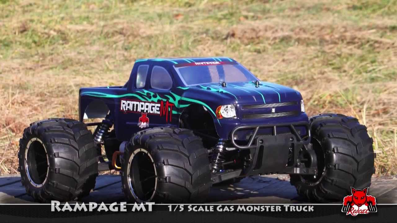 Rampage MT 1/5 scale Monster Truck by Redcat Racing