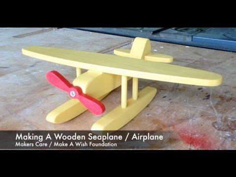 Making A Wooden Seaplane / Airplane