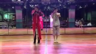141203 西野未姫・岡田奈々「あご姉妹の全力動画~チャイムはLOVE SONG~」